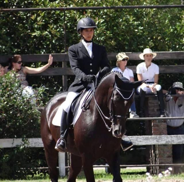 """Elisa Cuitiño: """"La equitación es parte fundamental de mi vida"""" 6"""