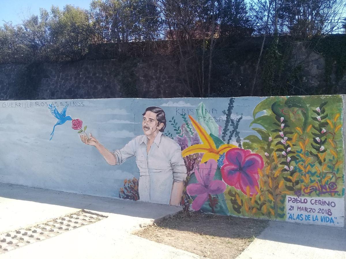 Por Vandalismo Fue Danado El Mural Alas De La Vida Del Paseo De La