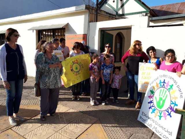 Escuela Especial Luis Morzone: histórico abandono 6