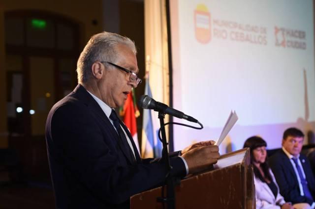 Albanese dio inicio al período de sesiones del Concejo Deliberante 1