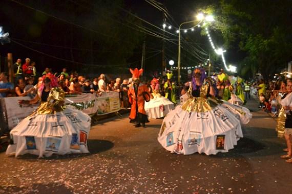 En fotos: la celebración del Carnaval de Unquillo 14
