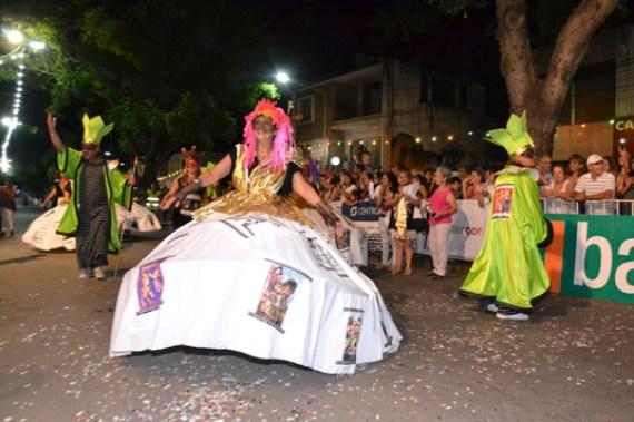En fotos: la celebración del Carnaval de Unquillo 15