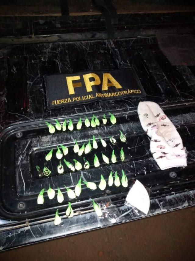 La FPA detuvo a 2 personas con estupefacientes 2