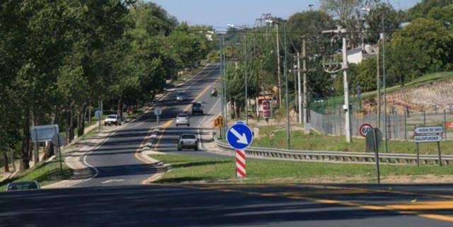 Corte de la ruta E-53 en Salsipuedes debido a obras 1