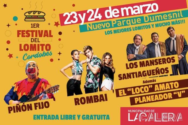 ¡Ahora sí! Hay Festival del Lomito cordobés en La Calera 1