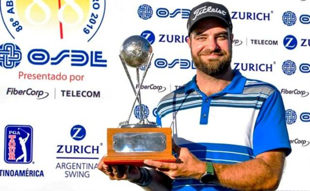 Tom Whitney, proveniente de Estados Unidos, fue el ganador del Abierto del Centro 2