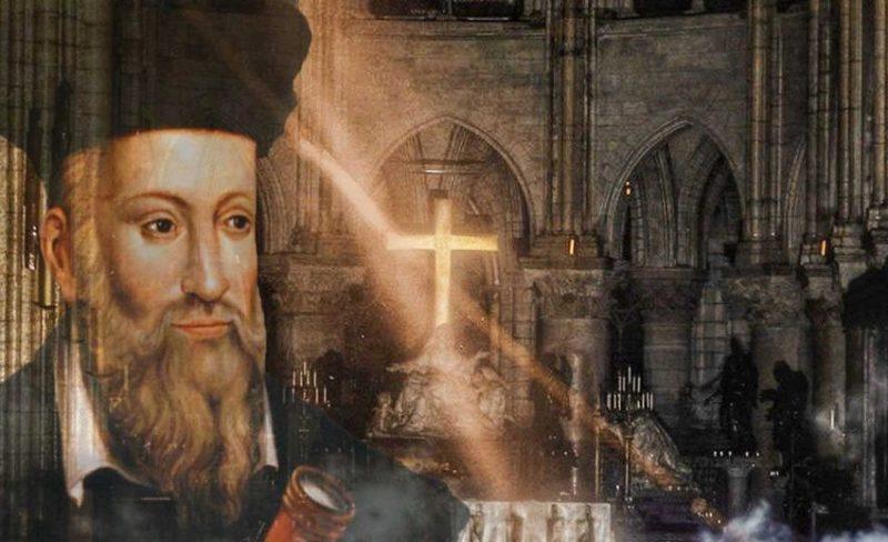 ¿Fue el incendio de Notre Dame predicho por Nostradamus?