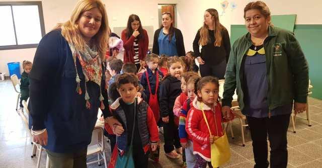 Salibi inauguró una nueva sala de tres para la escuelita Sarmiento 1