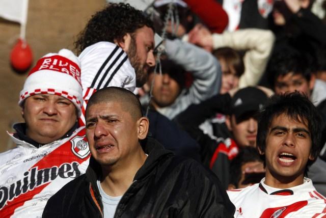 LA FOTO DEL DÍA: hace 8 años River Plate descendía a la B Nacional 15