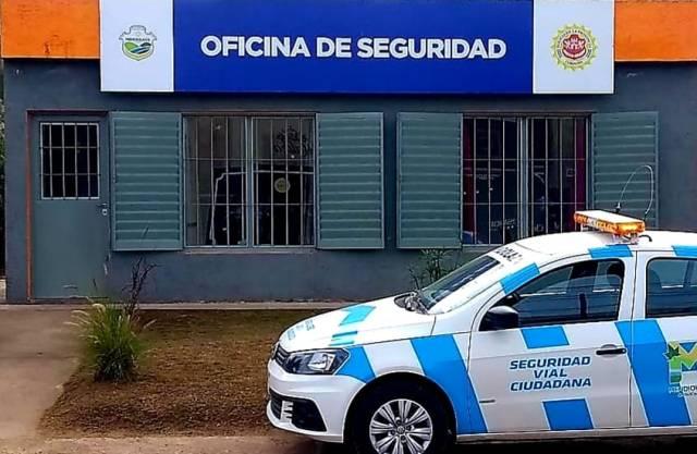 Mendiolaza: inauguración y puesta en funcionamiento de la Oficina de Seguridad 2