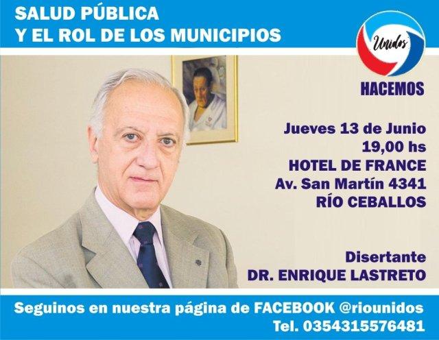Jornada sobre salud pública en Río Ceballos 2