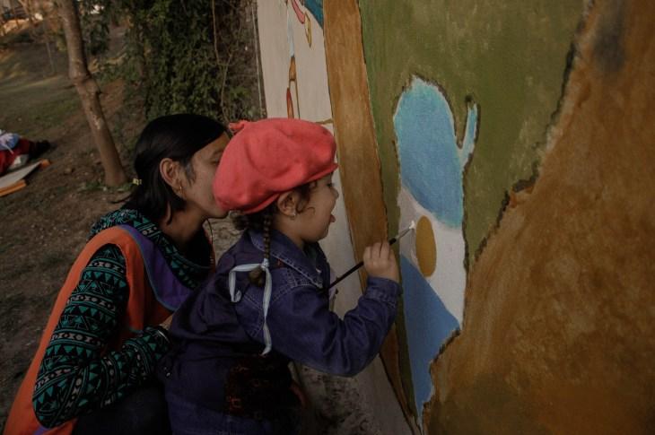 LA FOTO DEL DÍA: pintando la Argentina 9