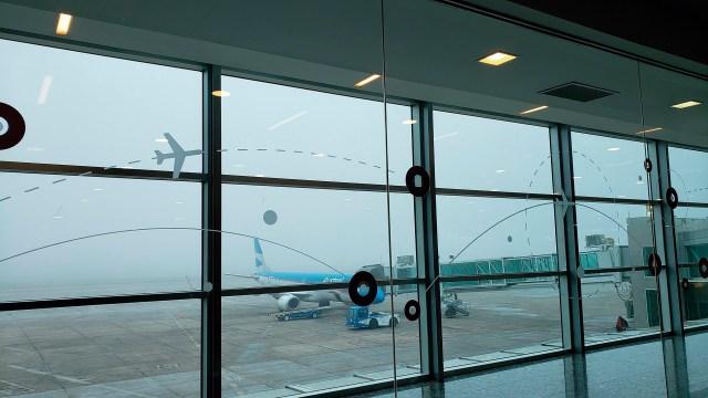 LA FOTO DEL DÍA: El aeropuerto de Córdoba estuvo cerrado varias horas por una espesa niebla 1