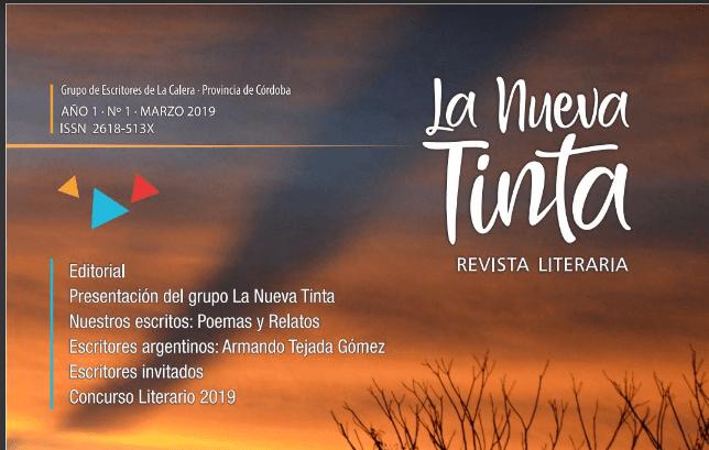 """Invitan a la presentación de la revista literaria """"La nueva Tinta"""" en La Calera 9"""