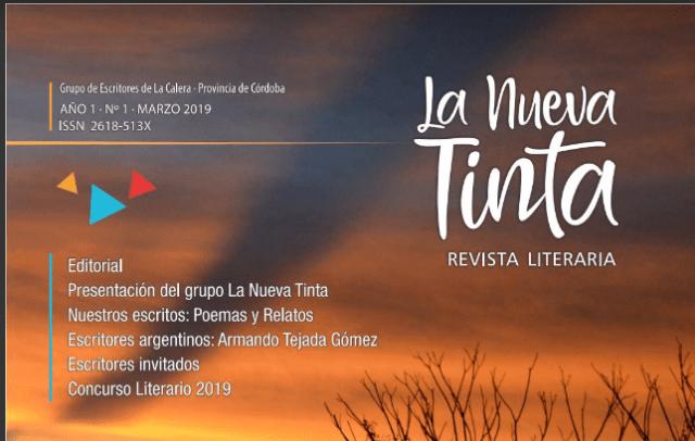 """Invitan a la presentación de la revista literaria """"La nueva Tinta"""" en La Calera 1"""