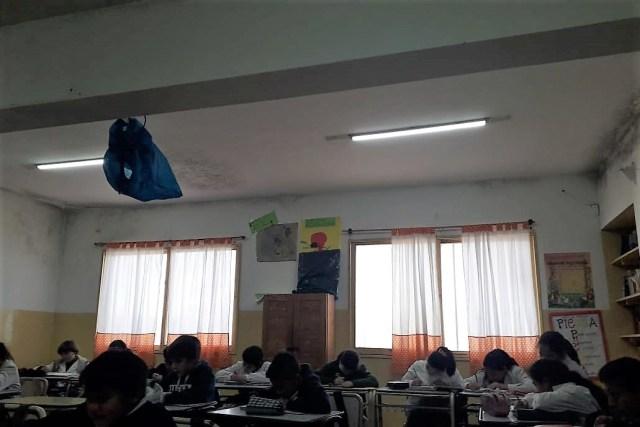 Preocupación por las deficiencias edilicias de la escuela Sarmiento de Mendiolaza 3