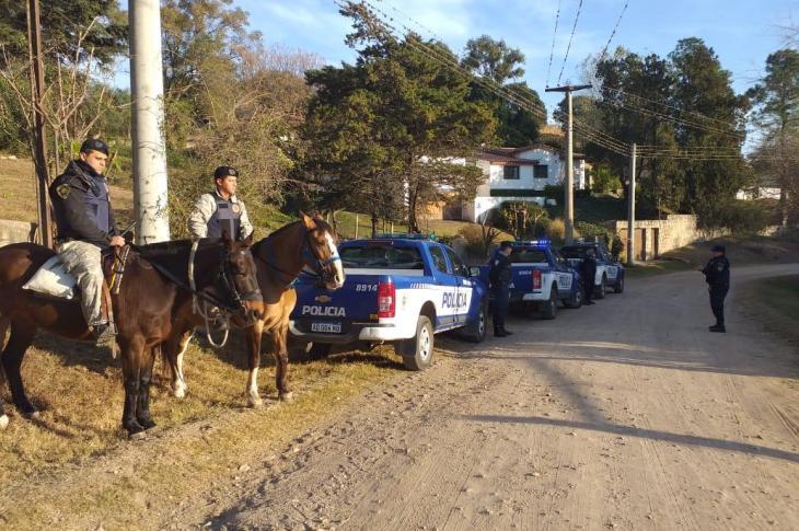 Sierras Chicas custodiada por la División Caballería 6