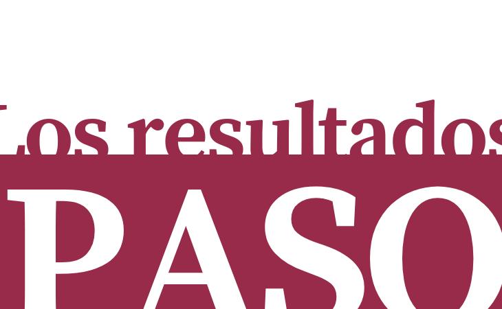 Se conocen los resultados de las PASO 1