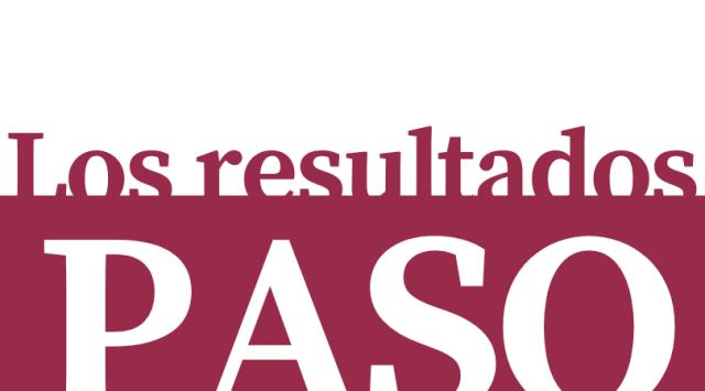 Se conocen los resultados de las PASO 2
