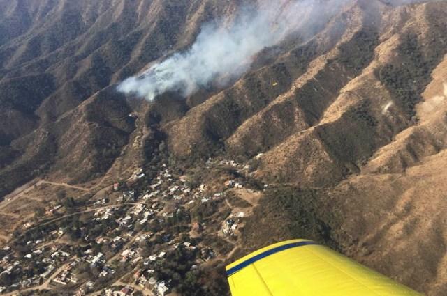 Es extremo el riesgo de incendios forestales: permanecen activos dos focos 1