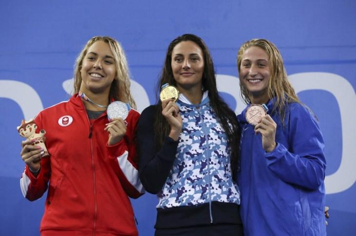 Panamericanos: Virginia Bardach, medalla de oro en 200 mariposa 11