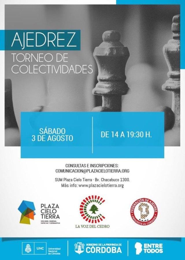 Este sábado arranca el Torneo de Ajedrez de Colectividades 4