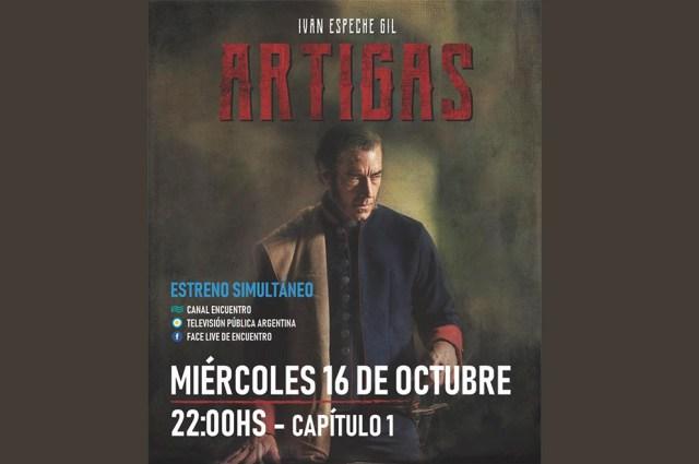 """Estrena """"Artigas"""", la serie en la que trabajan varios cordobeses 4"""