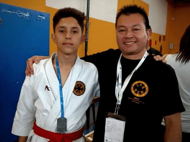 Agustín Martínez, subcampeón en los Juegos Nacionales Evita 6