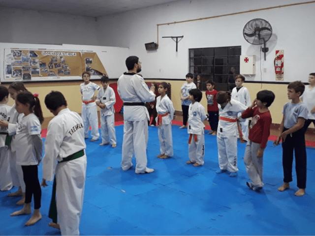 Taekwondo a exámenes 3