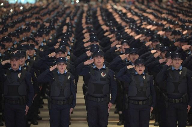 Córdoba alcanza el número recomendado de policías según población 5