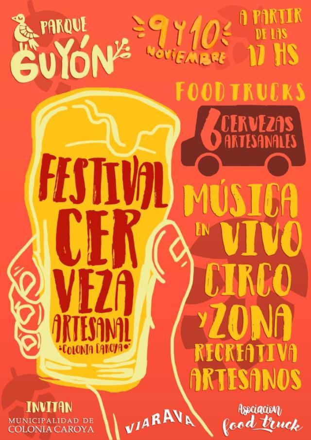 Colonia Caroya invita a un nuevo Festival Cervecero 6