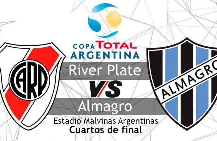 River vs Almagro, se juegan todo por la Copa Argentina 8