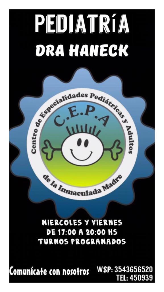 Certificados escolares: el Centro de Especialidades Pediátricas y Adultos de Río Ceballos informa sus novedades 26