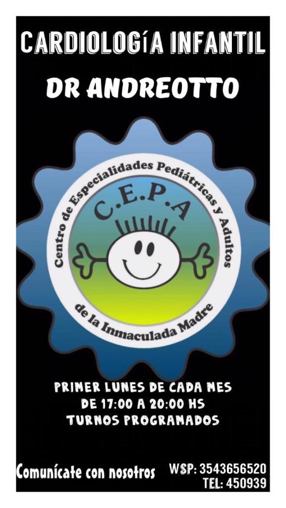 Certificados escolares: el Centro de Especialidades Pediátricas y Adultos de Río Ceballos informa sus novedades 27