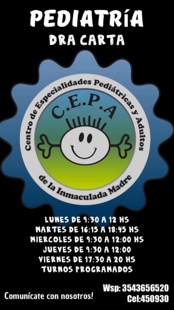 Certificados escolares: el Centro de Especialidades Pediátricas y Adultos de Río Ceballos informa sus novedades 31
