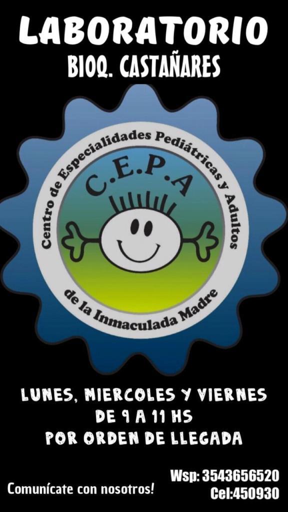 Certificados escolares: el Centro de Especialidades Pediátricas y Adultos de Río Ceballos informa sus novedades 35