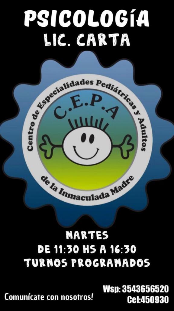 Certificados escolares: el Centro de Especialidades Pediátricas y Adultos de Río Ceballos informa sus novedades 39