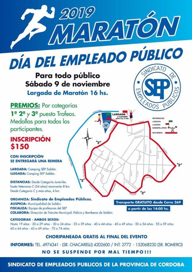 Se realiza una maratón por el Día del empleado público en Saldán 4