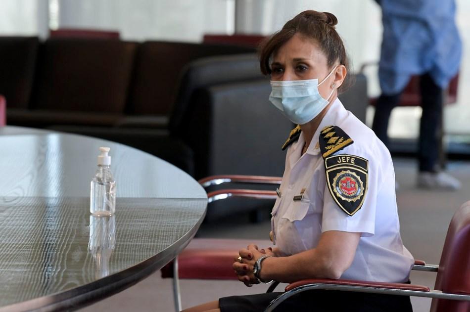<strong><em>Liliana Rita Zárate Belletti, quedó a cargo de la conducción de la fuerza policial. </em></strong>Foto gentileza Gobierno de Córdoba.