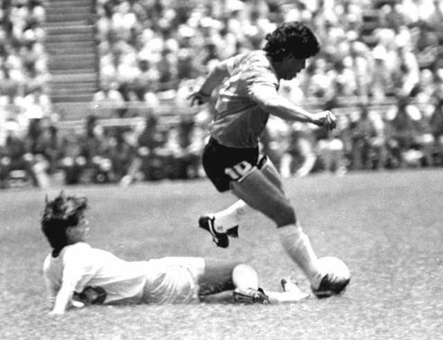 Buenos Aires: Fotografía de archivo de Diego Armando Maradona, quien cumple 60 años mañana.  Foto: Roberto Azcárate/Télam/cbri 29102020