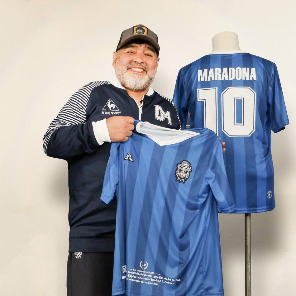 Buenos Aires: Fotografía de archivo del 30/10/2019 de Diego Armando Maradona., quien cumple 60 años mañana. Foto: Prensa/Télamcbri 29102020