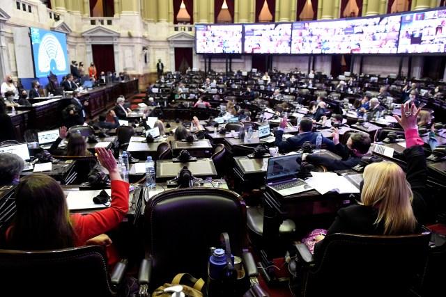 Buenos Aires: Media sanción para Presupuesto 2021 en Diputados. Foto: Prensa Diputados