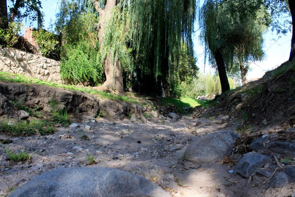 <strong><em>A pesar de las lluvias, muchos arroyos de Sierras Chicas aún no recuperan su caudal, tras meses de sequía. </em></strong>Foto E. Parrau/El Milenio (archivo).