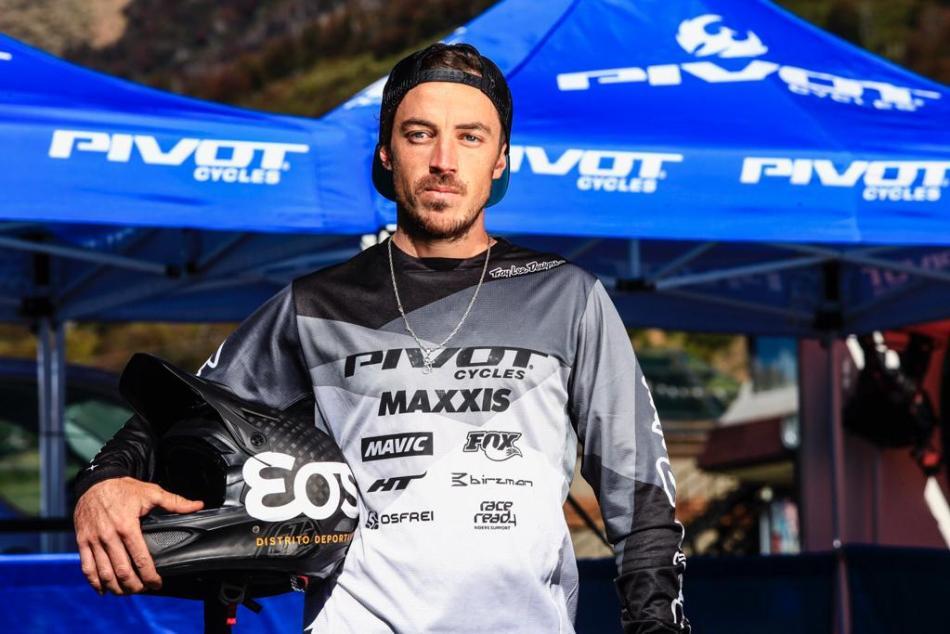<strong>Multicampeón de Descenso a nivel nacional e internacional, actualmente Maio se dedica al Enduro.</strong> Foto gentileza Martín Pereyra.