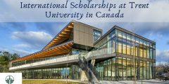 منحة جامعة ترينت للطلاب الدوليين للحصول على البكالوريوس في كندا (ممولة جزئياً)