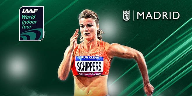 meeting madrid Dafne Schippers 2019