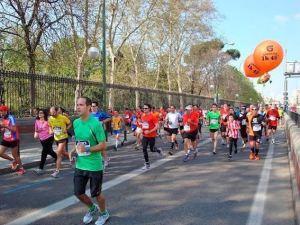 """Todos listos para el maratón de Madrid, """"la lucha de la voluntad contra el físico""""."""