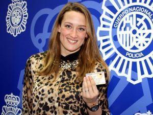 La nadadora Mireia Belmonte presentó la fase piloto del DNI 3.0 en Lleida el pasado mes de enero.