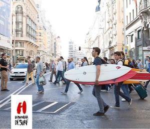 El surf madrileño participa por primera vez en el Campeonato de España.