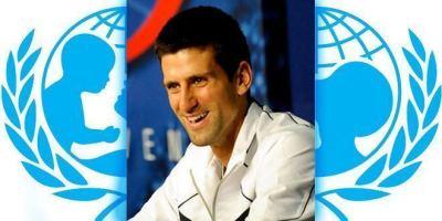Novak Djokovic es nombrado Embajador de Buena Voluntad de UNICEF.